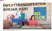 Premiär för BoKloks livesända säljstart!