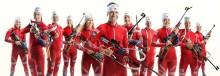 Velkommen til presselunsj med skiskytterlandslaget