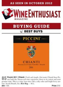 Piccini Chianti 2011 best Buy i The Wineenthusiast