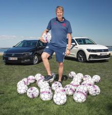 Volkswagen bliver DBU's officielle leverandør af biler
