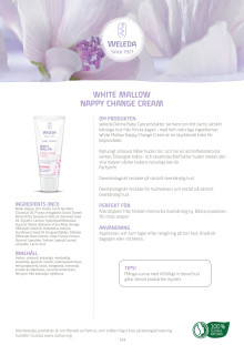 White Mallow Nappy Change Cream
