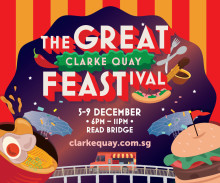 Dine on Read Bridge for the The Great Clarke Quay FEASTival