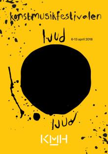 Programbok för Kungl. Musikhögskolans festival ljudOljud 2018