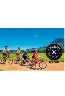 Decathlon har livstidsgaranti på sina cyklar!