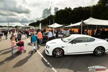 Bentleys modellprogram på Autoropa Racing Days 2018