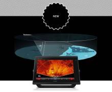 Garmin® lisäsi reaaliaikaiseen, skannaavaan Panoptix LiveScope -luotaimeensa uuden perspektiivitilan