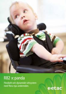 Produktblad R82 x:panda