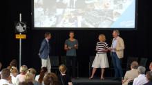 LenaLiisa Tengblad invigde Industriområdet med Mikael Damberg