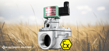 Sørg for at ventilen overholder Atex-direktiverne