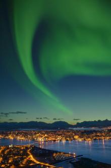Lufthansa bietet im kommenden Winter direkte Nordlichtverbindung Frankfurt-Tromsø