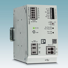 DC UPS with integrated power supply