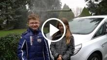 A Ford és egy okos testvérpár zöld megoldása a szélvédő tisztítására: újrahasznosított esővíz