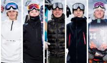 Fyra freeski- och en snowboard-åkare uttagna till världsungdoms-OS