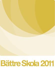 Två kommunala skolor prisas i Kvalitetsutmärkelsen Bättre Skola 2011!