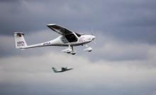 Gjennomførte Norges første elektriske flygning