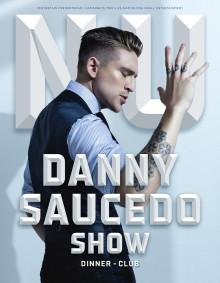 NU efter 10 år som artist blir Danny Saucedo först i sin generation med egen show på Hamburger Börs.