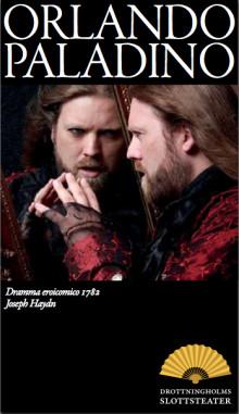 Inbjudan pressvisning 23 juli: Orlando paladino, på Drottningholms Slottsteater