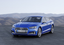 Nya Audi A5 och S5 Sportback – form möter funktion