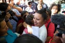 Kvinnorättskämpe från El Salvador prisas i Stockholm