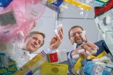 Plastavfall blir till värdefull råvara för nya produkter