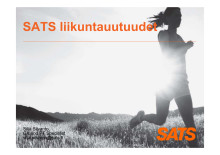 SATS-liikuntauutuudet_Silja Silvanto