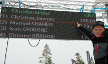 Hastighetsrekord av Christian Jansson i VM-kvalet