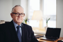 Nordens språkpris 2015 til Martti Ahtisaari