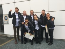 Team Sabis landade första  guldet
