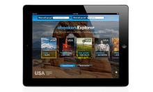 ebookers spisser iPad-appen Explorer