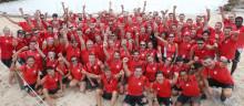 Adeccos Win4Youth:s ambassadörer har gått i mål i triathlon på Mallorca till förmån för barn och ungdomar
