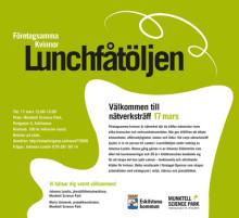 Lunchfåtöljen 17/3 Nätverksträff med Företagsamma kvinnor