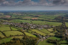 Community scheme brings high-speed fibre broadband to historic Devon village