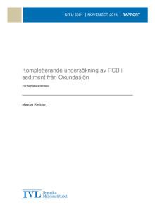 Rapport om förhöjda halter av PCB och dioxinliknande ämnen i fisk del 4