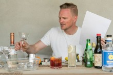 Jens Dolk testar Riedels drinkglas