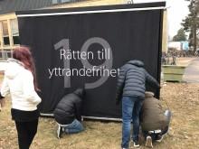RÄTTEN TILL YTTRANDEFRIHET I FOKUS I HUDDINGE