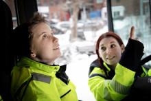 Transportutbildningen blir mer jämlik – fler tjejer som söker