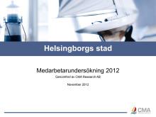 Resultat av Medarbetarundersökningen 2012