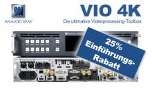 25% Einführungs-Rabatt auf VIO4K von Analog Way