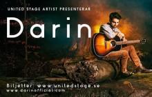 Darin utökar sin vårturné med nya konserter