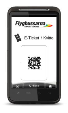 Nu blir det enklare att köpa e-biljett med mobilen