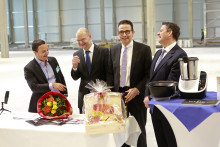 Chal-Tec's neues Logistikzentrum auf Logport IV in Kamp-Lintfort nimmt Form an