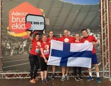 Adeccolaiset keräsivät kilometrejä lasten ja nuorten hyväksi maailman suurimmassa yritysmaratontapahtumassa