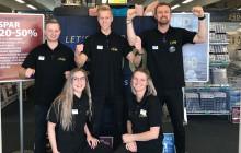 JYSK-medarbejderne i Vildsund holder fri, mens ledelsen passer butik