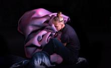 Dans möter skulptur i Cuttlefish