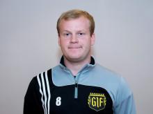 Markus Eng, Gnosjö IF,  får Woody Ungdomsledarstipendiet 2012