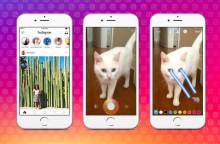 Sådan fungerer den nye Stories-feature på Instagram