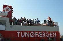 Borgerne valfarter til Tunø