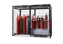 Ny gascontainer för uppställning utomhus – Från DENIOS