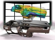Skumningssimulering av polyuretansystem för fordonsinteriörer