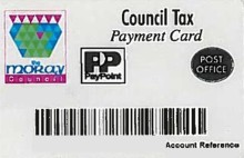 Moray residents urged to discard plastic payment cards for Council Tax and Housing Benefit Overpayment